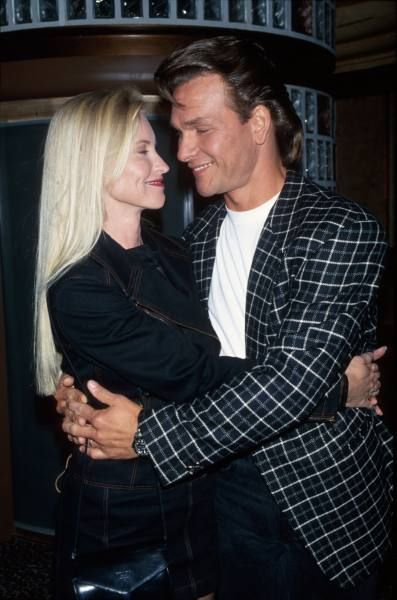 Lisa Niemi & Patrick Swayze married  June 12, 1975 until his death,   Sept. 14, 2009 -- 34 years!   A True Love Story