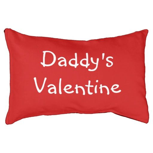 Daddy's Valentine, Indoor Dog Bed! #fomadesign