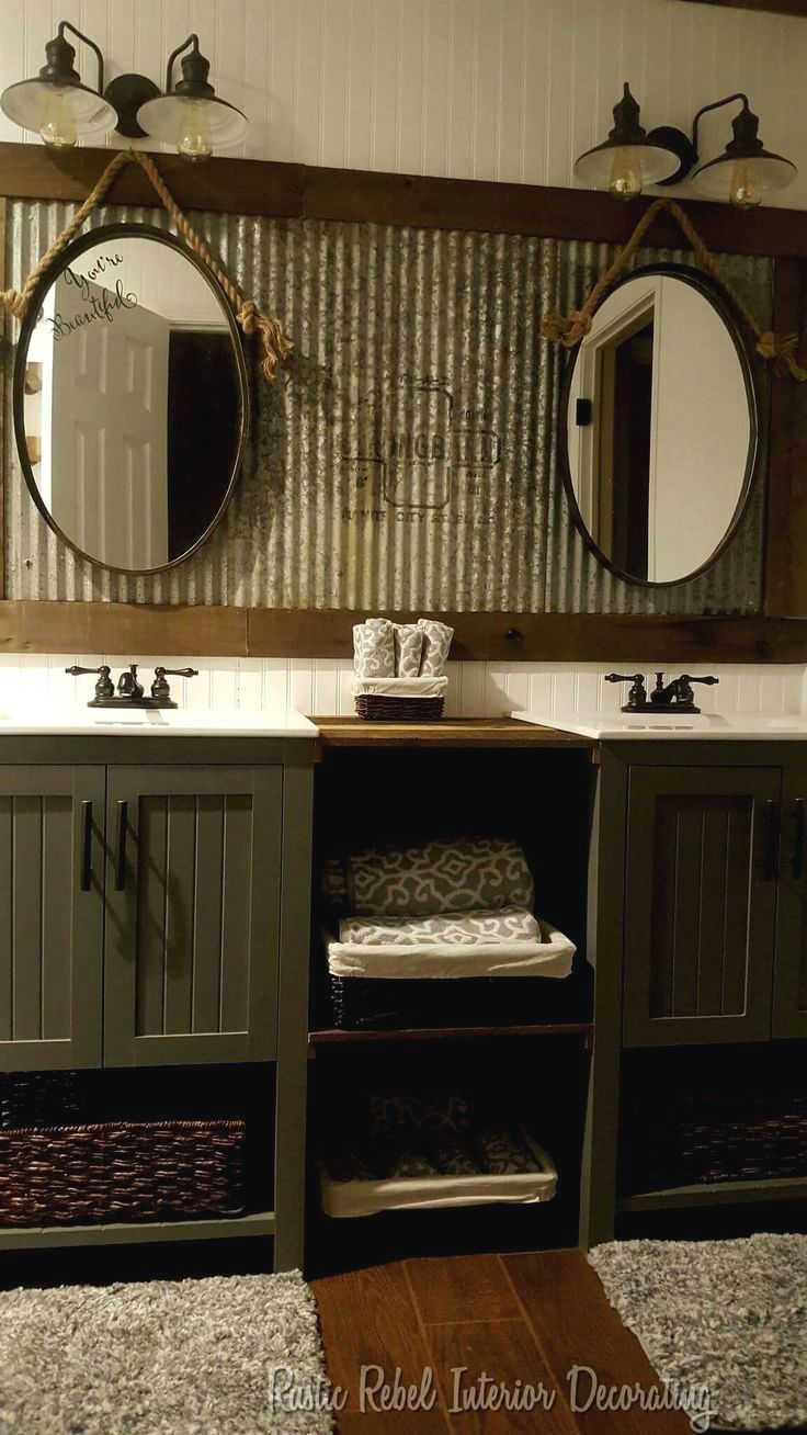 Rustic Bathroom Decoration