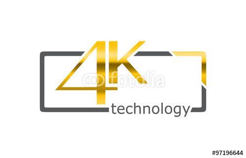"""Laden Sie den lizenzfreien Vektor """"4K Tecnology"""" von Davidus zum günstigen Preis auf Fotolia.com herunter. Stöbern Sie in unserer Bilddatenbank und finden Sie schnell das perfekte Stockbild für Ihr Marketing-Projekt!"""