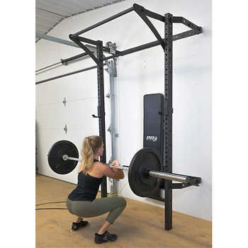 pinkat cognevich on home gym in 2020  folded up rack