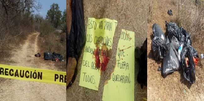 Hallan desmembrado a masculino en Iguala-Chilpancingo - http://www.notimundo.com.mx/estados/desmembrado-masculino-iguala-chilpancingo/