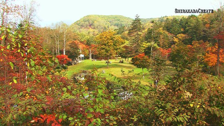 紅葉の福原山荘 - 鹿追町 2013 Colored Leaves in Fukuhara mountain cottage (+playlist)