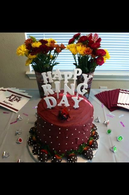 Aggie Ring Cake