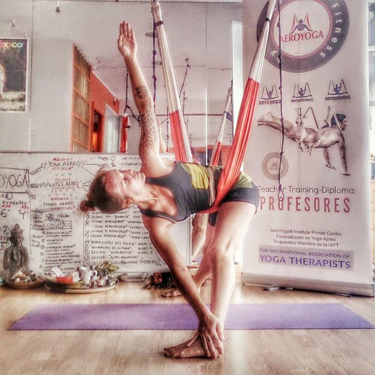 Aerial Yoga Teacher Training  -Aerial Pilates International Teacher Training  -Aerial Yoga Teacher Training  #yoga #rafaelmartinez #FITNESS #gym #Pilates #Sports #deporte, #SPAIN #Madrid #pilatesaereo #yogaaereo #aerialpilates #Aero #silks #antiage #antistress #gravity #Wellness #bienestar #salud #HEALING #HEALTH #TRIKONASANA #asanas #cursos #formacion #teachertraining #trapeze #trapecio #columpio #parivrttatrikonasana