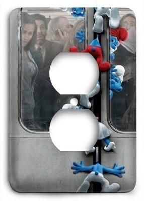 The Smurfs Ride Outlet Cover