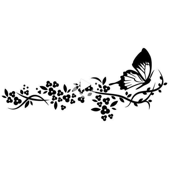 Stickers Arabesque Papillon