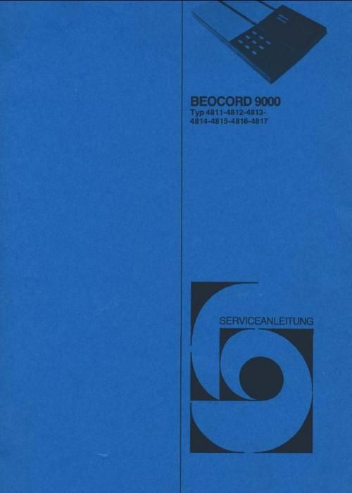 Bang & Olufsen Beocord-9000 (type 4811 , 4812 , 4813 , 4814 , 4815 , DOWNLOAD