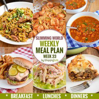 Slimming Eats Weekly Meal Plan – Week 23