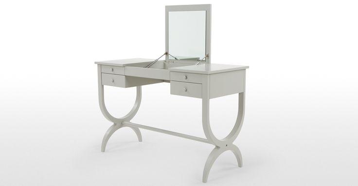 Leila Dressing Table, Grey   made.com