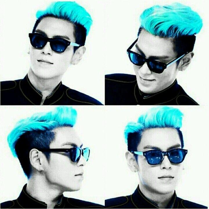 How I love his hair *-* #TOP #BIGBANG