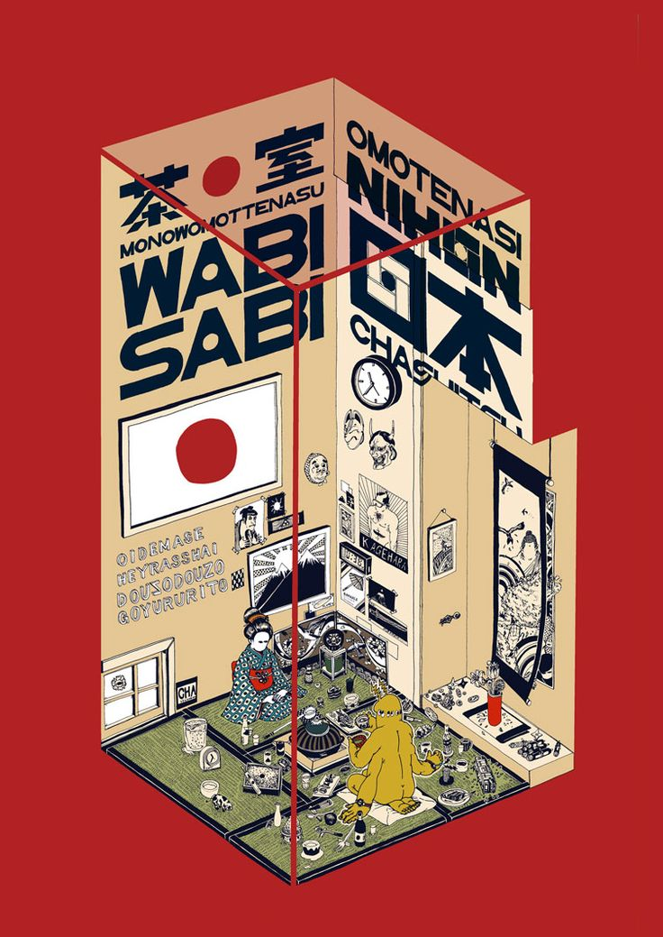 Wabi Sabi - Kaido Kenta #Graphic Design Poster