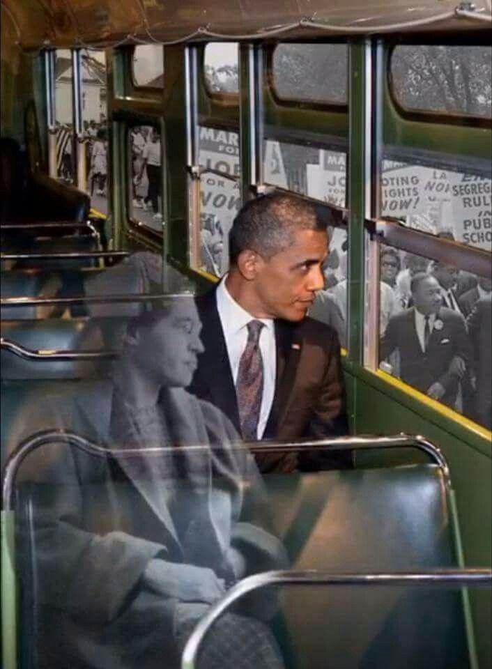 President Obama & Rosa Parks