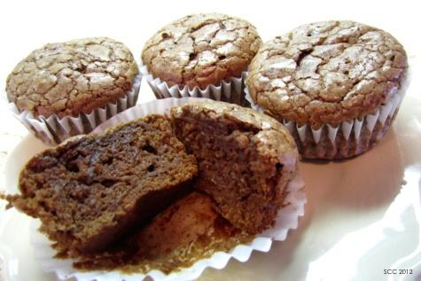 Baked Brownie Bites