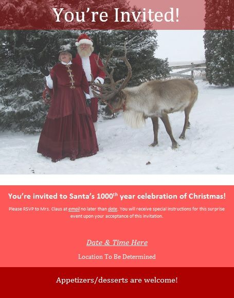 "I created my own Christmas-themed Murder Mystery Event & felt it was too much effort to only be used once. Use the Dropbox link to find all the scripts, images, and instructions as word documents. The event was created for 31 people (including hosts Santa & Mrs. Claus, so really 29) so you may need to edit as you see fit for your own gathering (make all the individual deer into one ""Reindeer"" character, etc.). Questions or clarification: feel free to message! Good luck! #MurderMystery…"