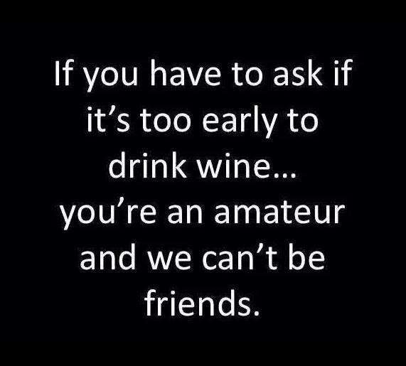 Ha ha! True!