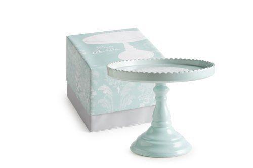 Rosanna 89833 Decor Bon Bon Hue Tall Pedestal, Blue by Rosanna Imports, Inc. On my wishlist :): Decor Bon, Tall Pedestal, Round Cakes, Blue Cakes, Rosanna Decor, Foot Round, Cakes Stands, Bon Hue, Good Good