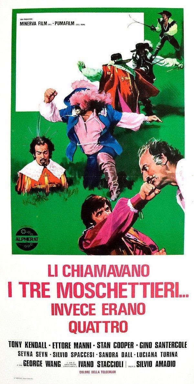 Li chiamavano i tre moschettieri... invece erano quattro (1973)