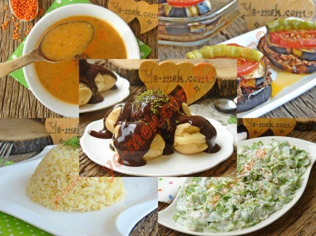 İftar Menüsü (Ramazan 23. Gün) Resimli Tarifi - Yemek Tarifleri