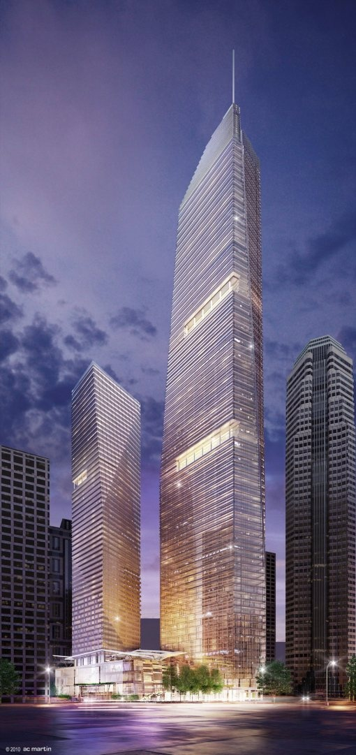 Cool new tower planned for Downtown LA.