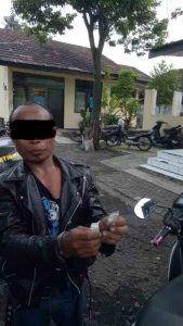Unit Reskrim Polsek Balongbendo Polres Sidoarjo Berhasil Amankan Pelaku Yang Membawa Sabu
