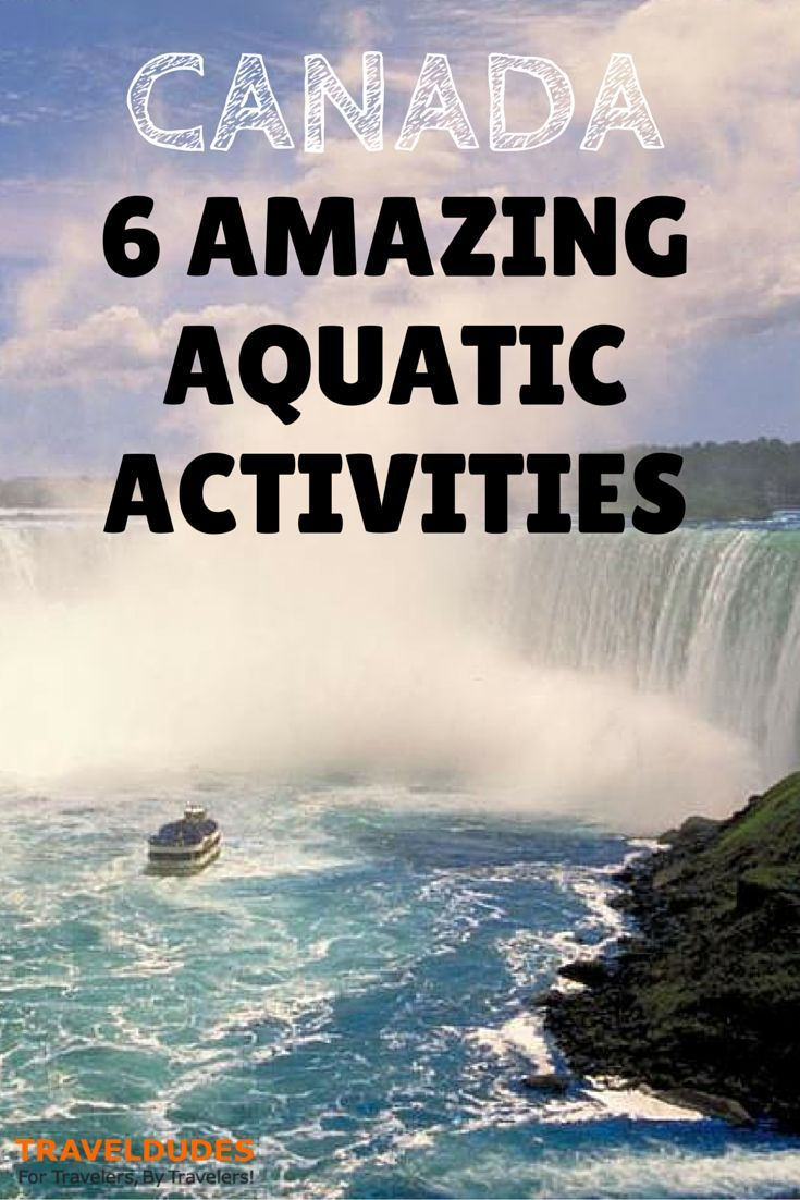 6 Amazing Simple And Smart Everyday Outfits For Men: 6 Amazing Aquatic Activities In Canada