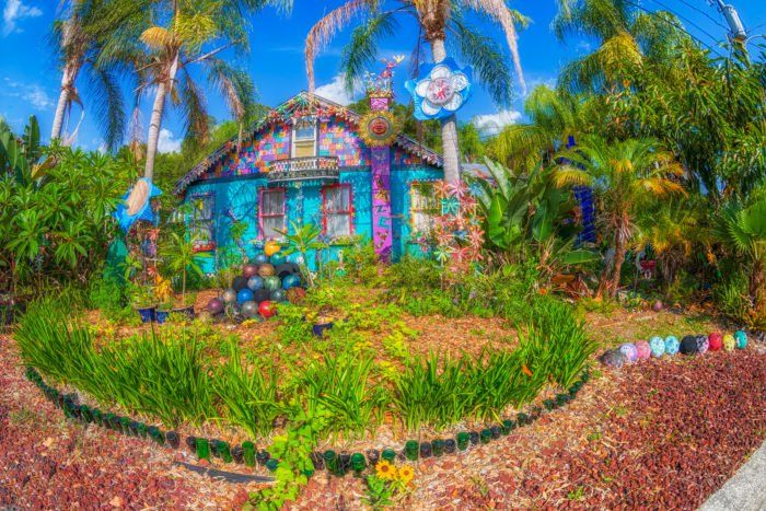 5. Whimzeyland (The Bowling Ball House), Safety Harbor