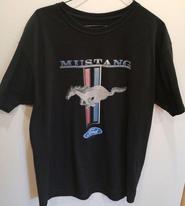 Ford Mustang Black Men/'s T-Shirts Black Ford T-Shirt Ford
