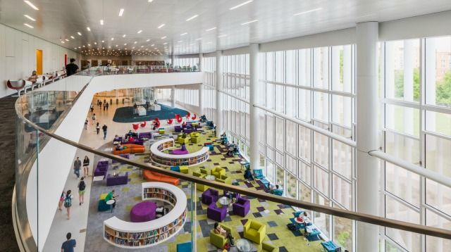17 best images about academic library space on pinterest - Interior design schools in south carolina ...