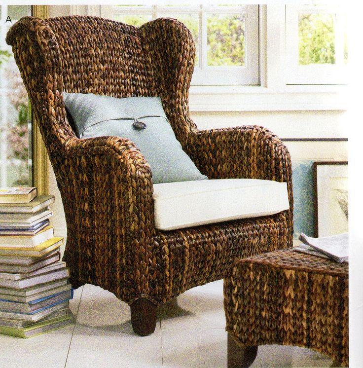 pottery barn faq wingback armchair