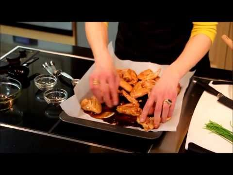 How to Make Spicy Molasses Wings