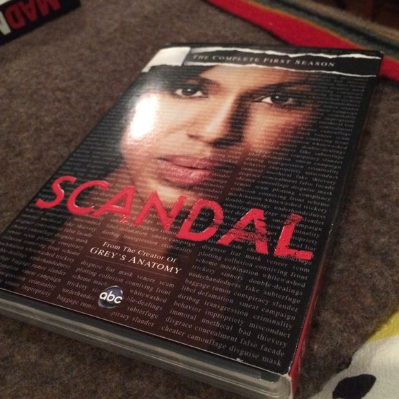 Scandal season 1 In great condition!! Other