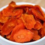 Αντί για πατατάκια. Τσιπς καρότου με μόνο 79 θερμίδες | Thats Life