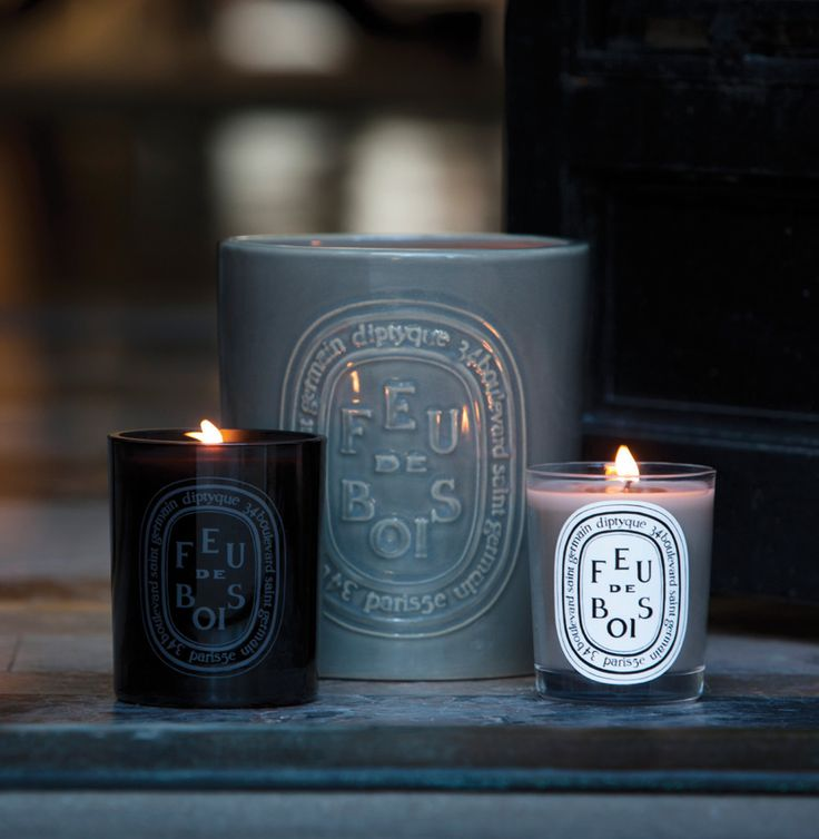 Diptyque: The candle material is soo nice love the light blue/grey one.