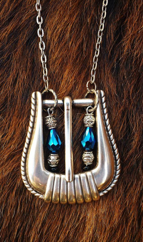 178 best Belt Buckle Necklace images on Pinterest   Belt ...