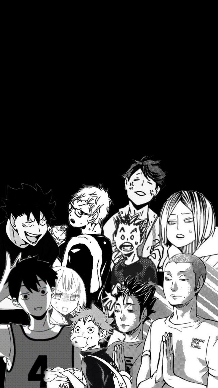 Haikyu!! in 2020 | Aesthetic anime, Anime wallpaper iphone ...