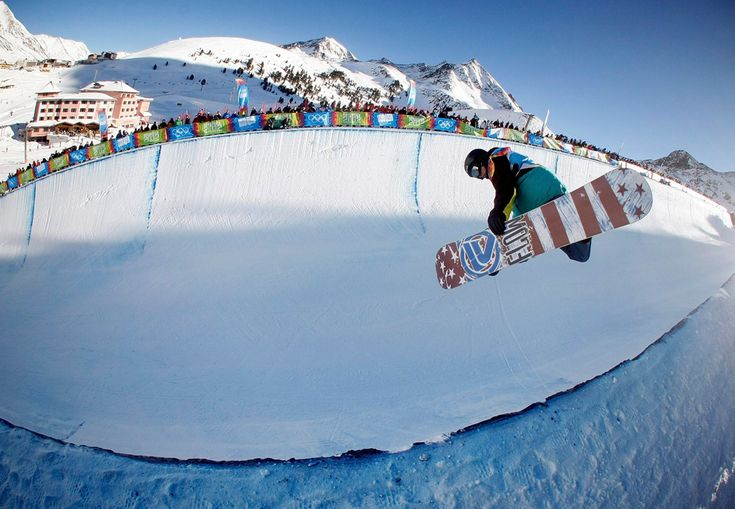 New Zealand's Hamish Bagley performs a jump during the men's snowboard halfpipe finals at the first Winter Youth Olympic Games in Innsbruck on Jan. 15. (Dominic Ebenbichler/Reuters)
