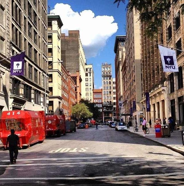 NYU campus Greenwich Village