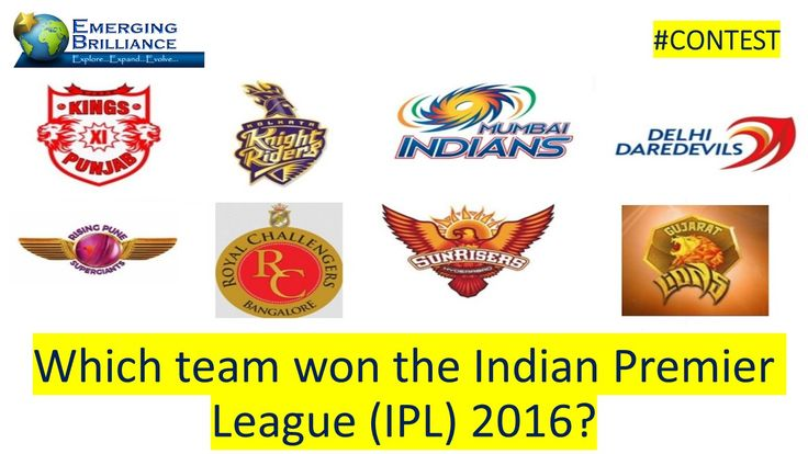 """#CONTEST Answer:Which team won the INDIAN PREMIER LEAGUE(IPL)2016 and win a Silver ticket for Our Event """"Discover Your Brilliance"""" in Delhi/Mumbai/Bangalore. *Tag your friends if you don't know the answer. *Winner will be selected by Lucky Draw.  *Winner will be announced on Sunday...! *Hint is in the picture itself. Till then keep #participating ........... www.discoveryourbrilliance.net or call 8585993007 #competition #win #dybindia2016 #prize #contest"""