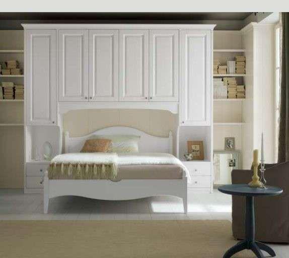 Camere da letto matrimoniali a ponte - Camera da letto color crema