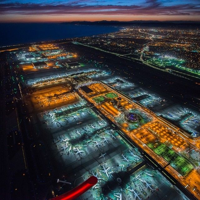 Writing an essay about first time in Los Angeles Airport?