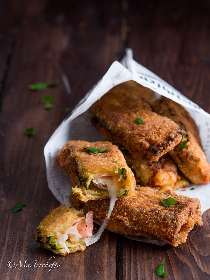 Cordon bleu di zucchine allo speck, ricetta antipasto con le zucchine