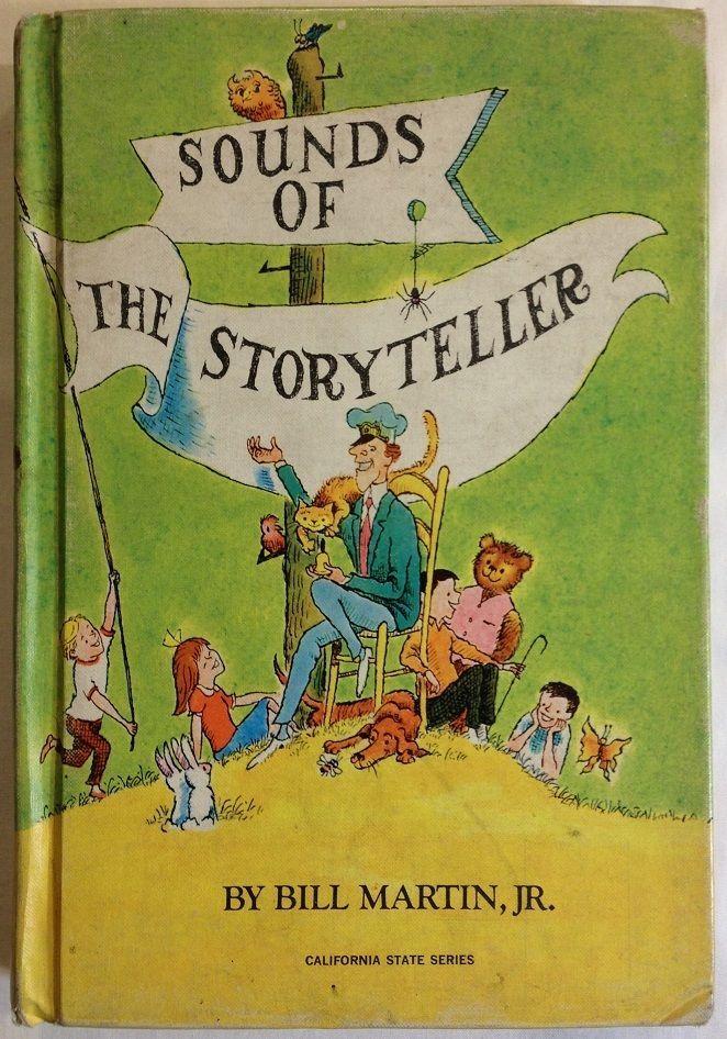 Sounds of The Storyteller by Bill Martin, Jr. (1966 - Hardcover) Easy Reader  #EasyReader