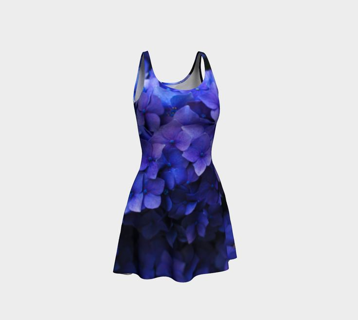 """Flare+dress+""""Hortensia""""+by+Mixed+Imagery"""