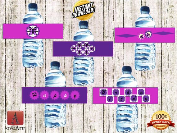 Hey, I found this really awesome Etsy listing at https://www.etsy.com/listing/242028853/water-bottle-labels-butterfly-labels