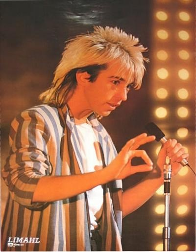 Limahl -your to shy shy..