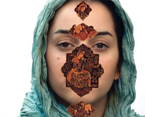 Sadegh Tirafkan, The loss of our identity #2, 2008