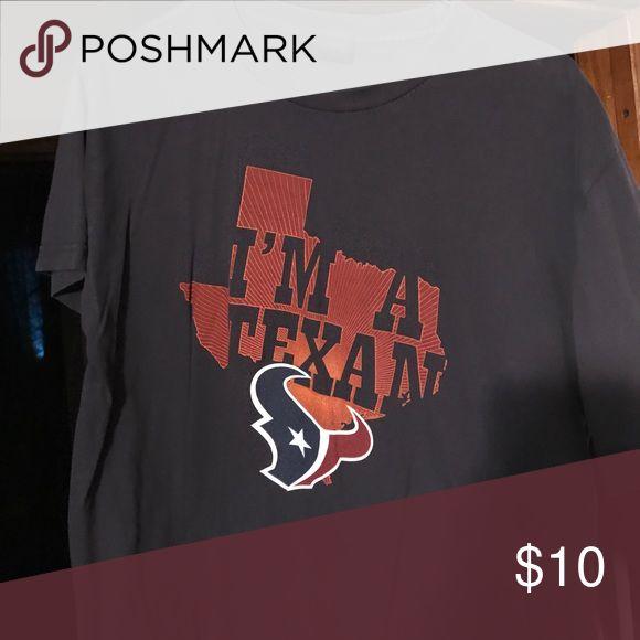 "Houston Texans ""I'm a Texan"" NFL apparel Shirt Great shape, bought at Texans team shop nfl Shirts Tees - Short Sleeve"