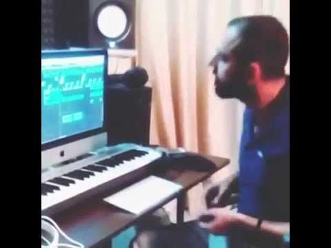Jaz Buttar Live Violin Recording in a Punjabi Song | Music Studio Record...