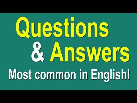 Speaking English Practice Conversation | Questions and Answers English Conversation With Subtitle - YouTube